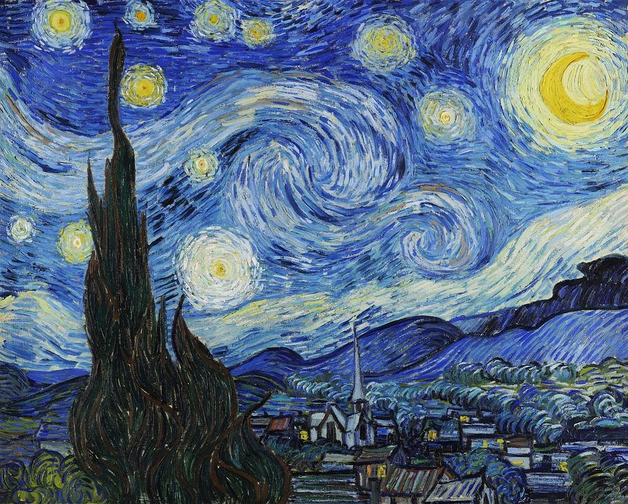 the starry night analysis